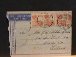 72/024 LUCHTPOSTBRIEF NAAR NED  1933 - Nederlands-Indië