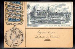 CRIMEE - Exposition De 1900 - Médaille De Crimée - Victoria Régina 1854 - Ucraina