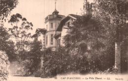 06 CAP D'ANTIBES LA VILLA THURET CIRCULEE 1915 - Antibes