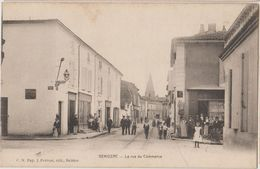 17 Gemozac Cpa La Rue Du Commerce TB Animée éditeur CN Pap Prevost Saintes - Autres Communes