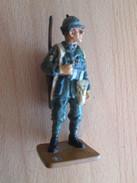 Figurine Métal DEL PRADO Guerre 39/45 65 Mm : ALPINI ITALIEN 1940 - Army