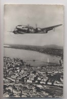 AVION Air France - 161 Languedoc - Survolant Genève -  Quadrimoteur - 1946-....: Ere Moderne