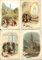 N°60717 -lot 6 Chromos -Notre Dame De Lourdes- - Chromos