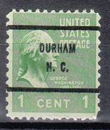 USA Precancel Vorausentwertung Preo, Bureau North Carolina, Durham 804-61 - Vereinigte Staaten