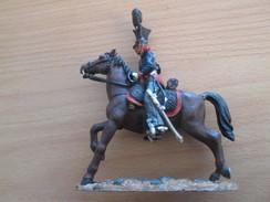 Figurine Métal DEL PRADO OU DU MEME GENRE / CAVALIER GUERRES NAPOLEONIENNES UHLAN PRUSSIEN 1810 - Army