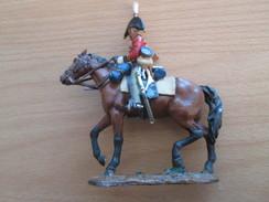 Figurine Métal DEL PRADO OU DU MEME GENRE / CAVALIER GUERRES NAPOLEONIENNES OFFICIER ANGLAIS 1812 - Army