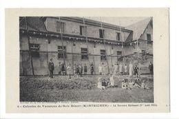 19086 - Montricher Colonies De Vacances De Bois Désert Le Nouveau Bâtiment Août 1924 Enfants - VD Vaud