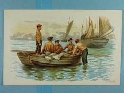Phoscao Scène De Pêche (illustration) - Publicité