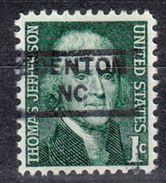 USA Precancel Vorausentwertung Preo, Locals North Carolina, Edenton 852 - Vereinigte Staaten