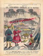 PROTEGE CAHIER- PHENOMENES GENERAUX DE LA NATURE-AURORE BOREALE-ILLUSION OPTIQUE- MIRAGE- ARC EN CIEL-FEU FOLLET-MAGIE - Buvards, Protège-cahiers Illustrés
