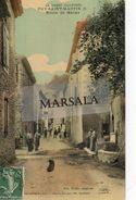 CPA  Puy Saint Martin (Colorisée) Route De Manas - France