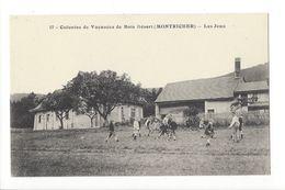 19093 - Montricher Colonies De Vacances De Bois Désert Les Jeux Enfants - VD Vaud