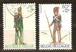 Belgie Belgique 1983 Yvertnr. 2108 Et 2110 (°) Oblitéré Used Cote 4,50 Euro - Belgium