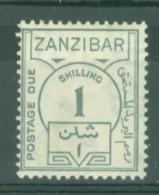 Zanzibar: 1936/62   Postage Due    SG D30   1s     MH - Zanzibar (...-1963)