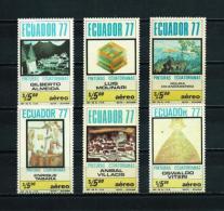 Ecuador  Nº Yvert  A-661/6  En Nuevo - Ecuador