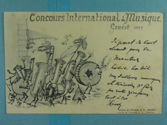 Concours International De Musique Genève 1902 - GE Genève