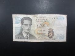 Billet 20 Francs Belge 1964 - 20 Francs