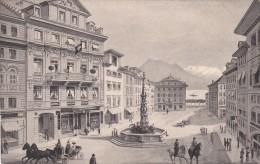 Luzern - Weinmarkt - Hotel Krone - LU Lucerne
