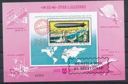 2010. HUNFILA 2010. 83. Stamp Day - Commemorative Sheet With Overprint - Feuillets Souvenir