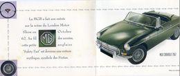Publicite Pour Voiture MGB Cabriolet 1967  - Grardel Garagiste à Gryvelde 59 - Reclame