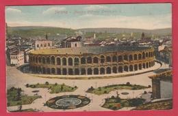Verona - Piazza Vittorio Emanuele II ( Verdere Verso ) - Verona
