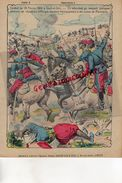 PROTEGE CAHIER- IMPRIMERIE DUCOURTIEUX LIMOGES- MAROC-COMBAT DU 29 FEVRIER 1908 A SOUK EL DRIN-CHASSEURS D' AFRIQUE - - Blotters