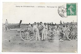 Camp De CHAMBARAN ( 38) Artillerie - Nettoyage Du Matèriel -   - L 1 - Manoeuvres