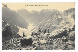 Chasseurs Alpins En Reconnaissance En Savoie -   - L 1 - Manoeuvres