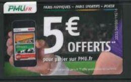 France Pariez Avec PMU.Fr 5 Euros Offerts - Sport