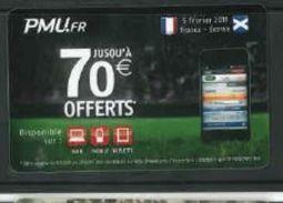 France PMU.fr Rugby France Ecosse 05/02/2011 - Sport