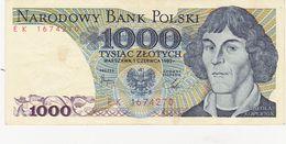 1 000  Zlote Pologne 1982 - Pologne
