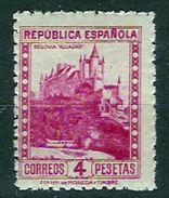 España 0771 ** Segovia Dent. 10. 1938 - 1931-50 Neufs