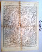 STAFKAART 16/8 Meting 1865 GEEL TONGERLO LARUM OLEN OOSTERLO OEVEL WESTERLO-HOOGBUUL STELEN ZAMMEL HET-PUNT Kaart S369 - Geel