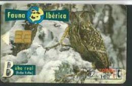 Espagne Fauna Iberica Aigle Buho Real 2000 Pta - Telefonkarten
