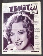 Cinema - Rivista Zenit - Settimanale Illustrato - N° 44 - 4 Novembre 1931 - Libri, Riviste, Fumetti