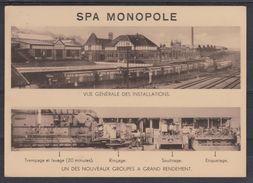 SPA MONOPOLE   2 Cartes  Vues Des Instalations - Publicidad