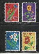 SOMALIA 1969 FLORA FAUNA FIORI ANIMALI FLOWERS ANIMALS FLEURS ANIMAUX SERIE COMPLETA COMPLETE SET MNH POST AFIS - Somalia (1960-...)