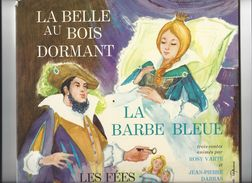 """LIVRE - DISQUE """"Le Petit Ménestrel"""" La Belle Au Bois Dormant / La Barbe Bleue / Les Fées Volume 1 - 1973 - Kinderlieder"""