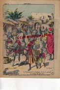 PROTEGE CAHIER- MAROC- LA FEMME PORTE LES FARDEAUX ET FAIT LES TRAVAUX LES PLUS DURS-SERVANTE BETE DE SOMME-MOEURS - Buvards, Protège-cahiers Illustrés