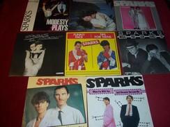 SPARKS  °  LOT DE 8 / 45 TOURS - Complete Collections