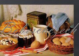 2512 CZECH REPUBLIC 1997 CZECH Eier, Honig, Kaffee Kuchen Eggs Honey Coffee Cake Gugelhupf  Sweet Bread - Küchenrezepte