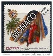 """Monaco YT 2200 """" Grand Prix Automobile """" 1999 Neuf** - Unused Stamps"""