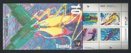 Canada 1992 Ol. Winter Games Albertville Booklet Y.T. C 1229  ** - Full Booklets