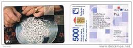 CROAZIA (CROATIA) - CHIP  - HPT 1999  TOURIST SITES: PAG 500 UNITS      - USED - RIF. 6729 - Croatia