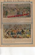 PROTEGE CAHIER- LES ANNALES DE LA REVOLUTION-1789-1799- ENROLEMENTS VOLONTAIRES-JOURNEE DU 10 AOUT 1792 -CHARIER SAUMUR - Blotters