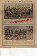 PROTEGE CAHIER- LES ANNALES DE LA REVOLUTION-1789-1799- ARRESTATION ROBESPIERRE-FIN DE LA CONVENTION -CHARIER SAUMUR - Buvards, Protège-cahiers Illustrés