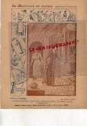 PROTEGE CAHIER-IMPRIMERIE DUCOURTIEUX LIMOGES- MAITRESSE DE MAISON-MENAGE CUISINE-GLACIERE-STERILISATION-CHARIER SAUMUR - Colecciones & Series