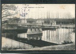 CPA - PONTIVY - Le Pont Neuf, Animé - Pontivy