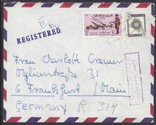 IRAQ - Enveloppe En Recommandé De Baghdad à Destination De Frankfurt (ALL) B/TB - - Iraq