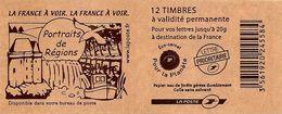 FRANCE - BOOKLET / CARNET, Yvert 3744b-c6 - 2007 - Marianne Des Français, 12x TVP Red - Booklets